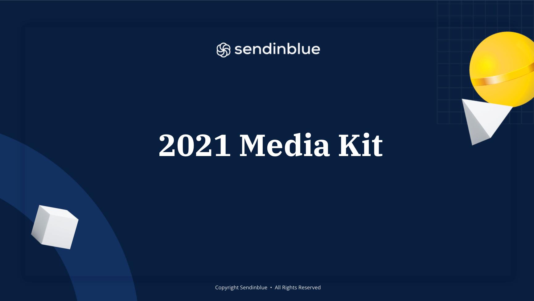 SendinBlue Mediakit 2021