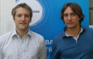 Benoît Richard et Bertrand Altamyer, fondateurs de Marcel