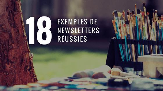 18 exemples de newsletters réussies