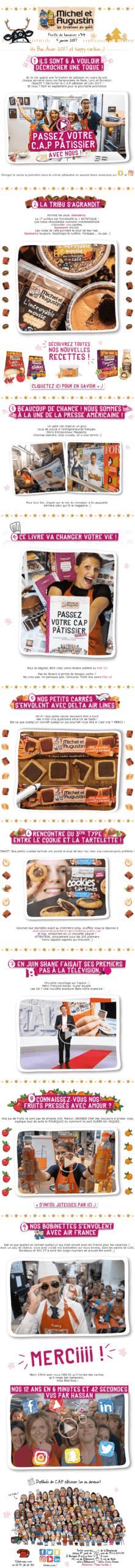 Exemple de newsletter #9 : Michel et Augustin