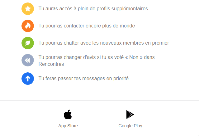 Emails et newsletters de sites de rencontres : email marketing de badoo