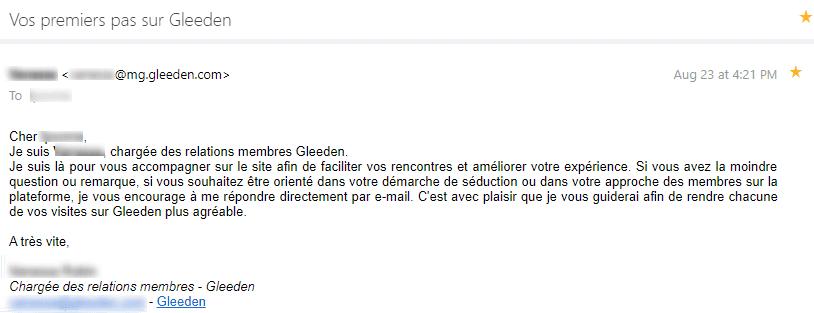 html vs texte : un exemple d'email au format texte