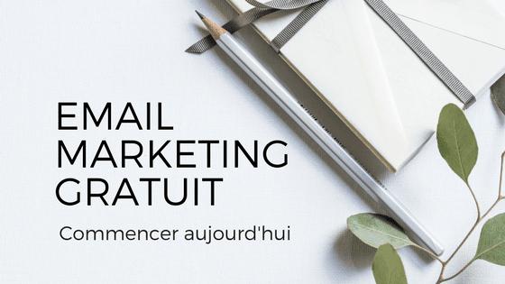 Email marketing gratuit, la liste des outils indispensables