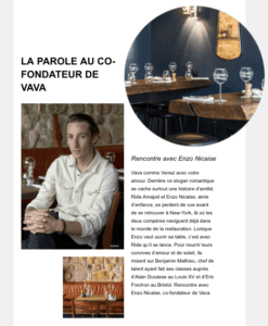 Newsletter La Fourchette