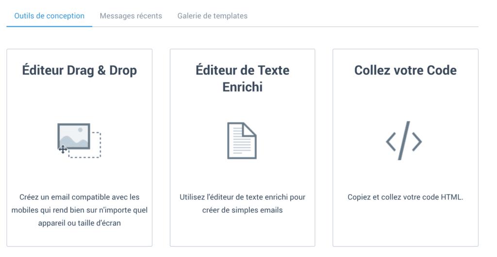 3 outils de conception de newsletter