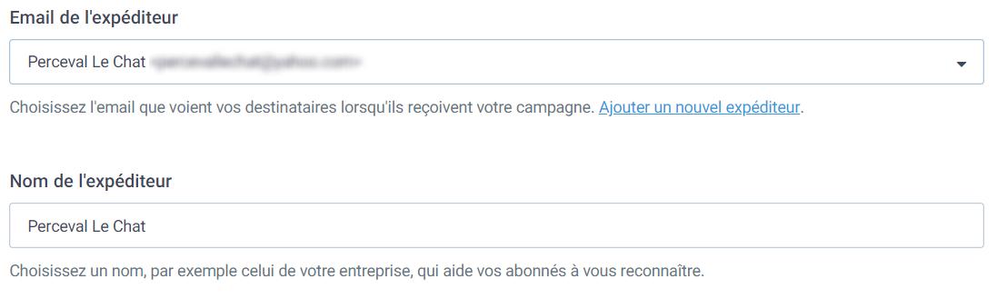 Expéditeur email : comment modifier son sender name dans Sendinblue