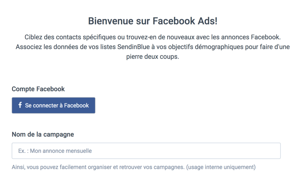 Créer et gérer des publicités facebook ads #2