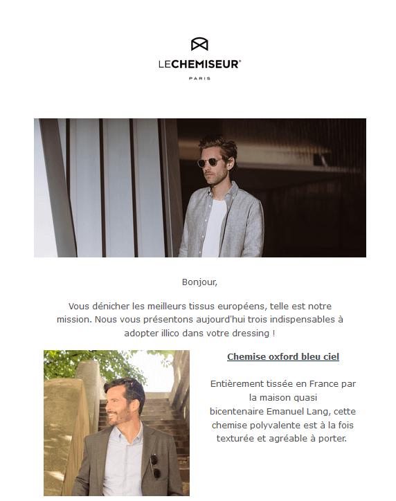 Exemple couleur marketing - blanc