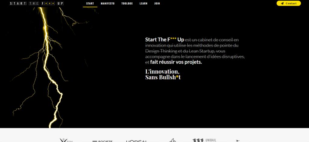 Code couleur marketing jaune et noir