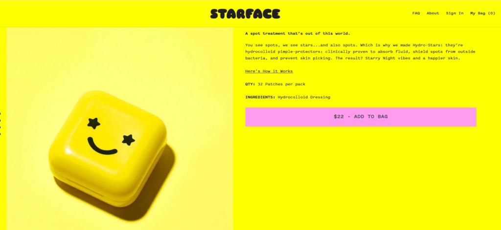 Couleur jaune marketing