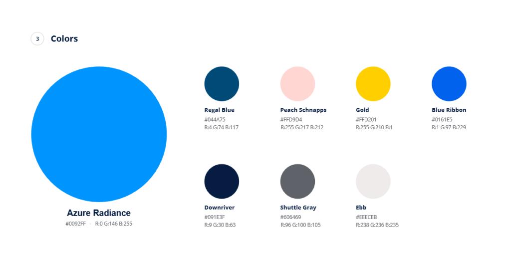 branding marketing - couleurs