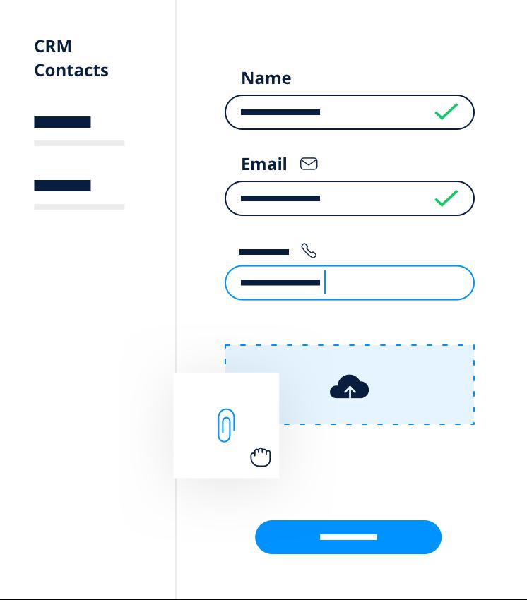 CRM contacts Nom