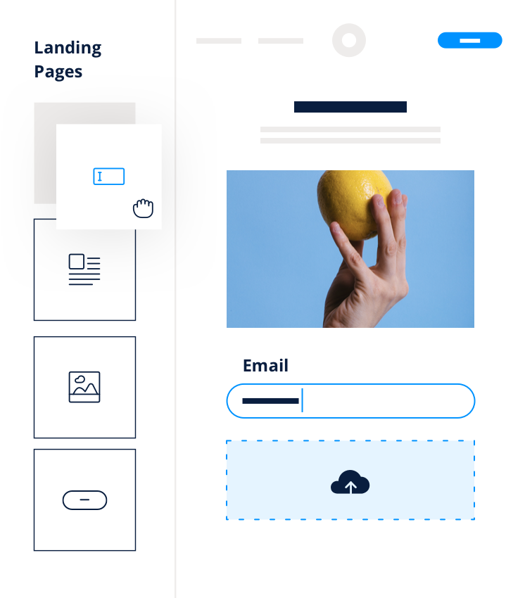 Landing Pages Email