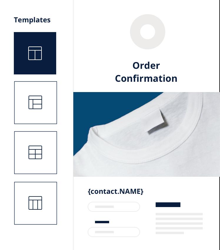 Emails transactionnels - commande