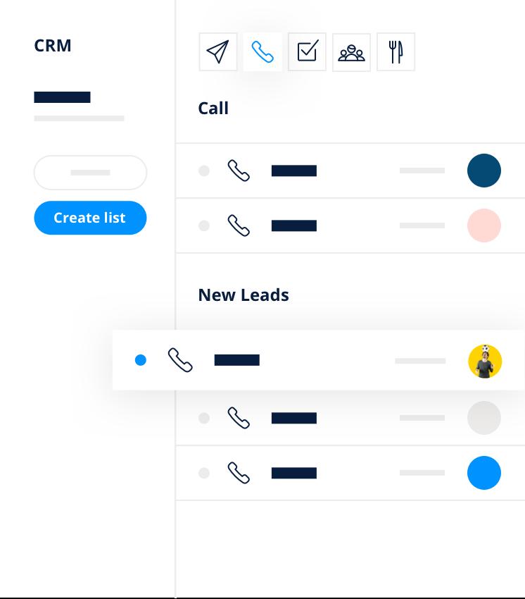 CRM- nouveaux leads