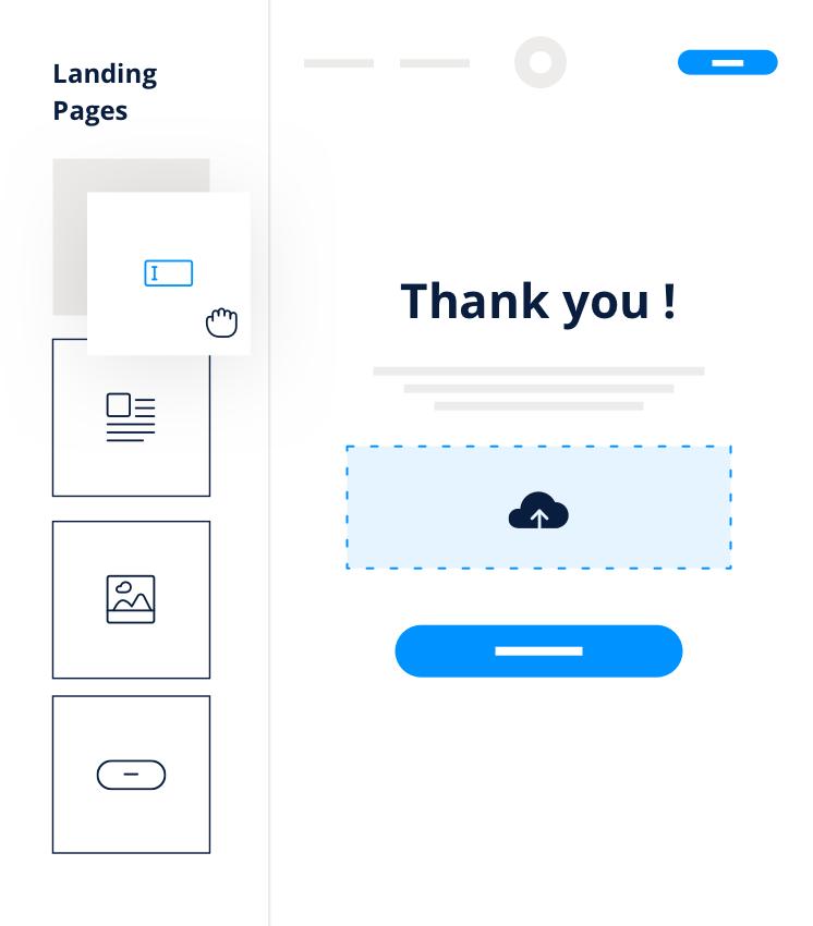 Landing Page remerciement