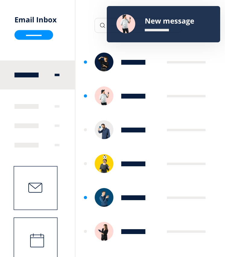 Emails transactionnels - Inbox