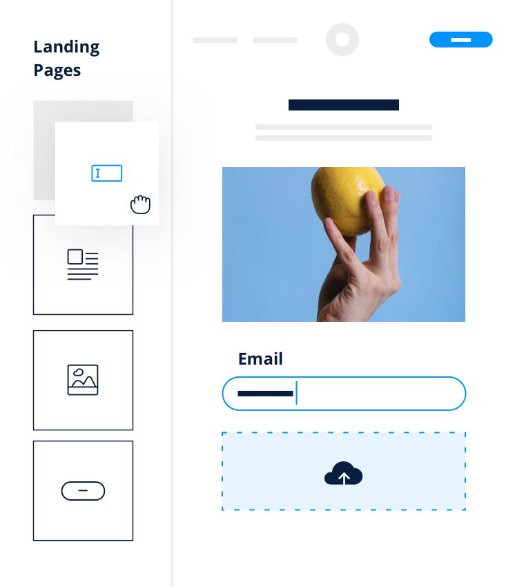 Logiciel Newsletter - Landing Page