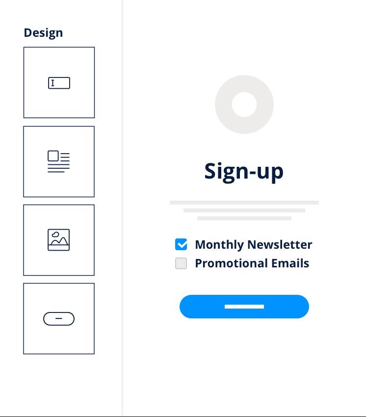 Logiciel emailing gratuit - Sign Up