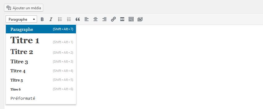 Créer un site WordPress - headers