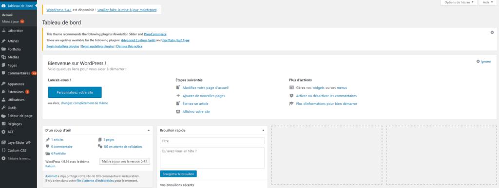 Créer un blog WordPress gratuitement
