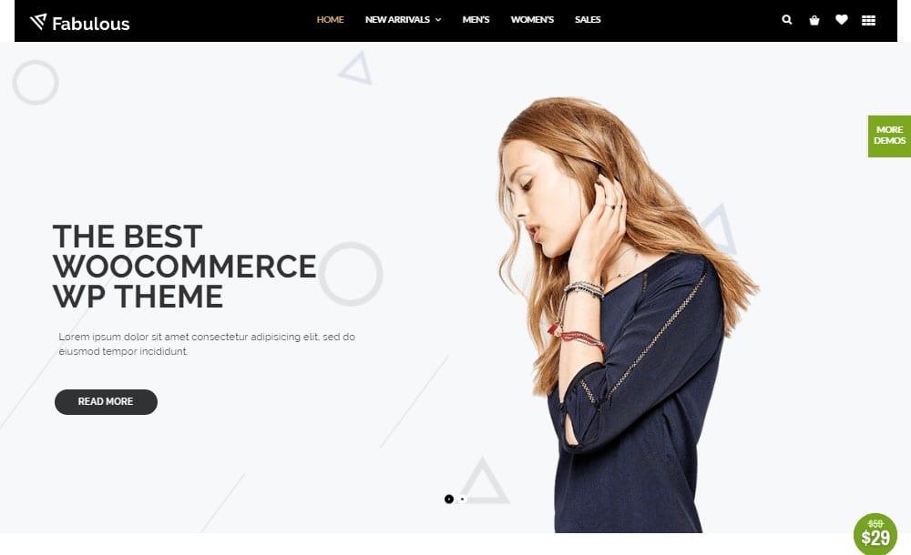 Thèmes WordPress Ecommerce - Nitro