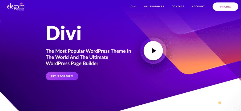 Thèmes WordPress - Divi