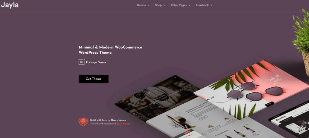 Thèmes WordPress ecommerce - Jayla