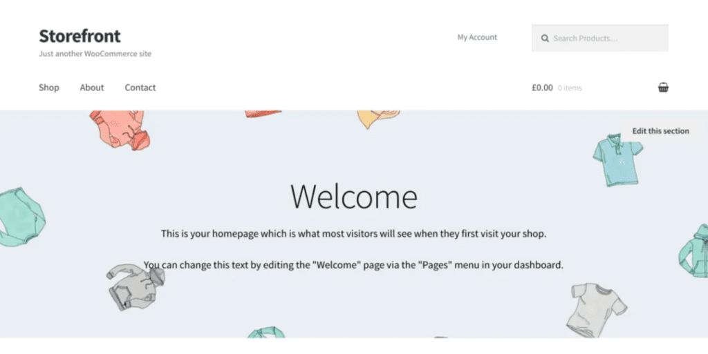 Thèmes WordPress gratuits pour votre site ecommerce - Storefront