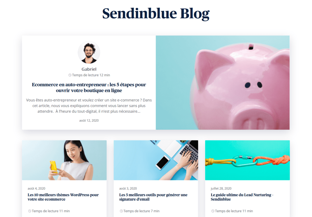 Blogging -exemple blog 1