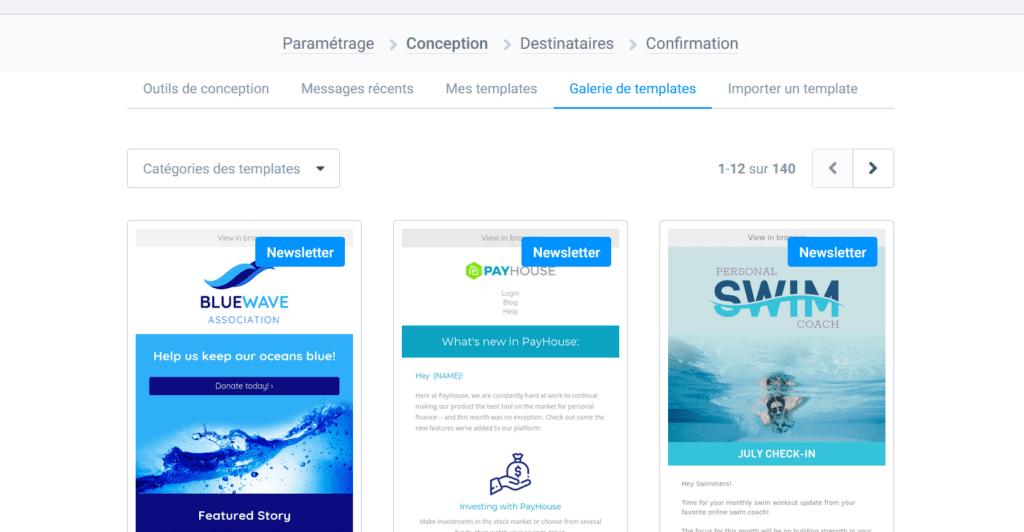 Design Email Inspiration - Sendinblue