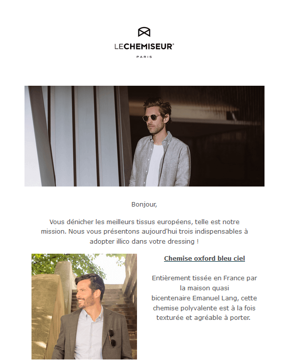 Fidélisation client - newsletter
