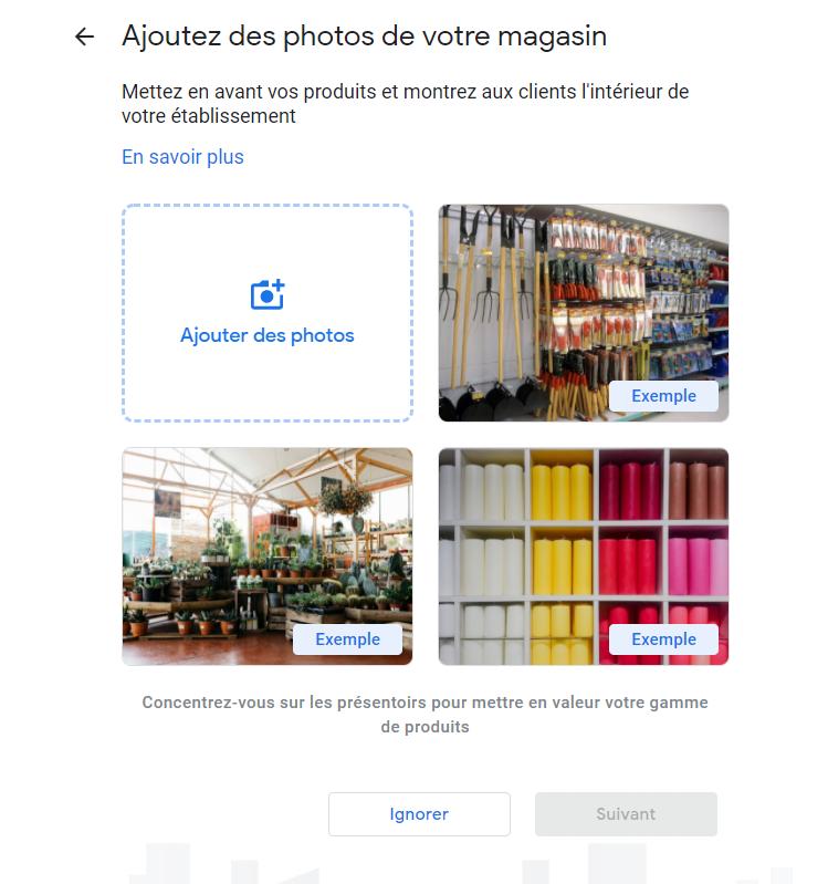 Référencement local - Google My Business Exemple 5