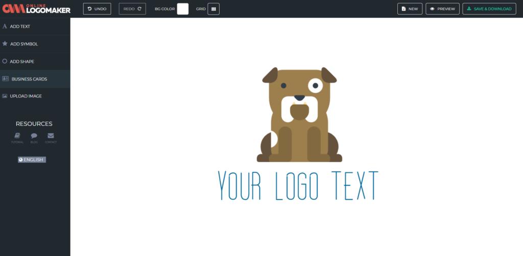 Création logo gratuit - online logo maker