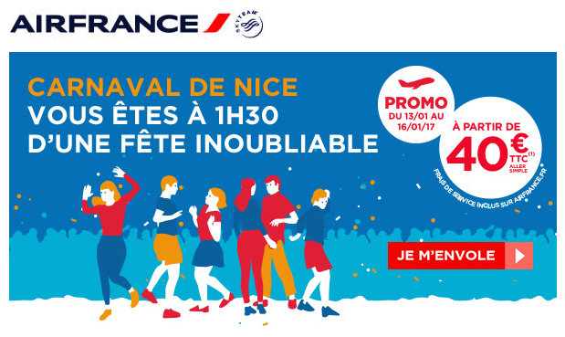 Call to Action Air France