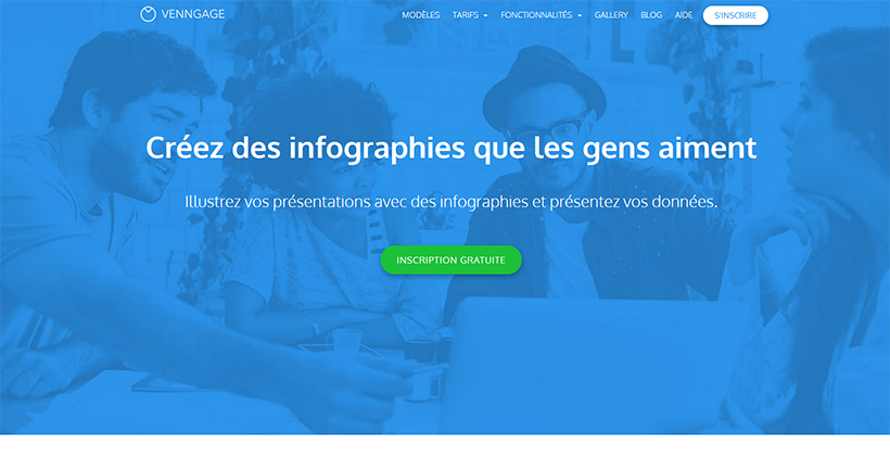 Creer une infographie - Venngage