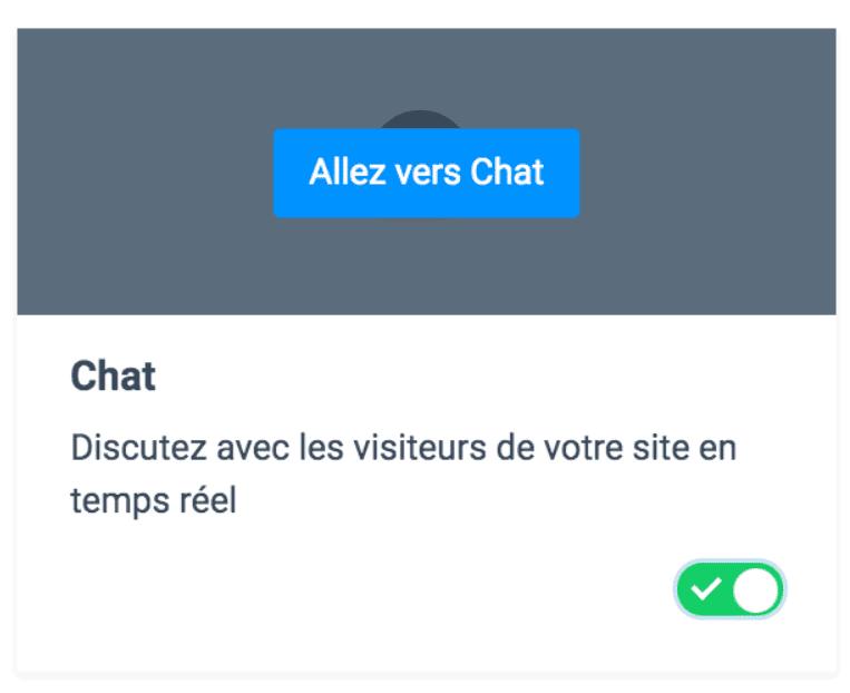 Live Chat - Tutoriel 2