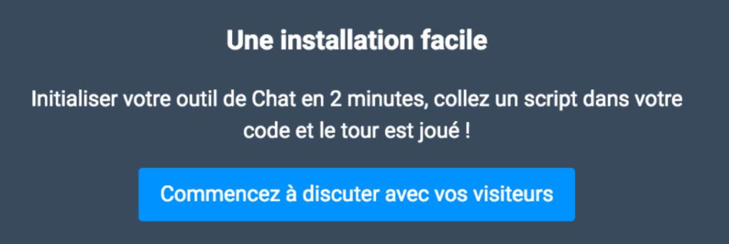 Live Chat - Tutoriel 3