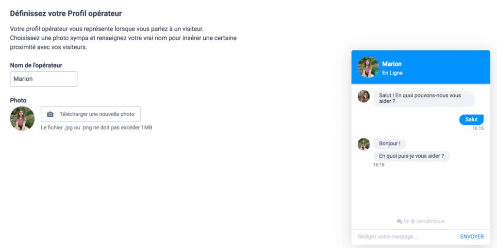 Live Chat - Tutoriel 5